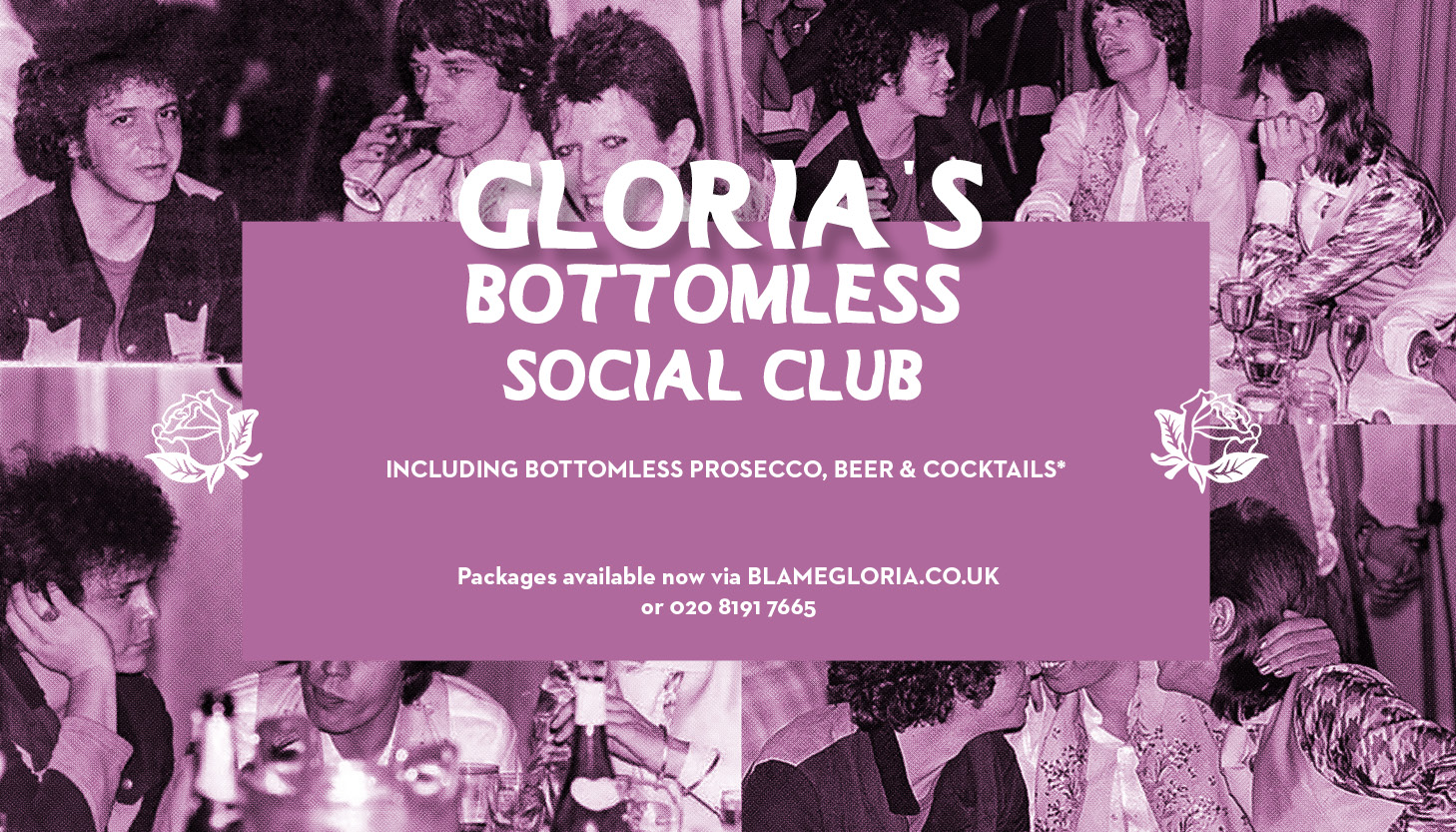 Blame Gloria: Social Club,Covent Garden