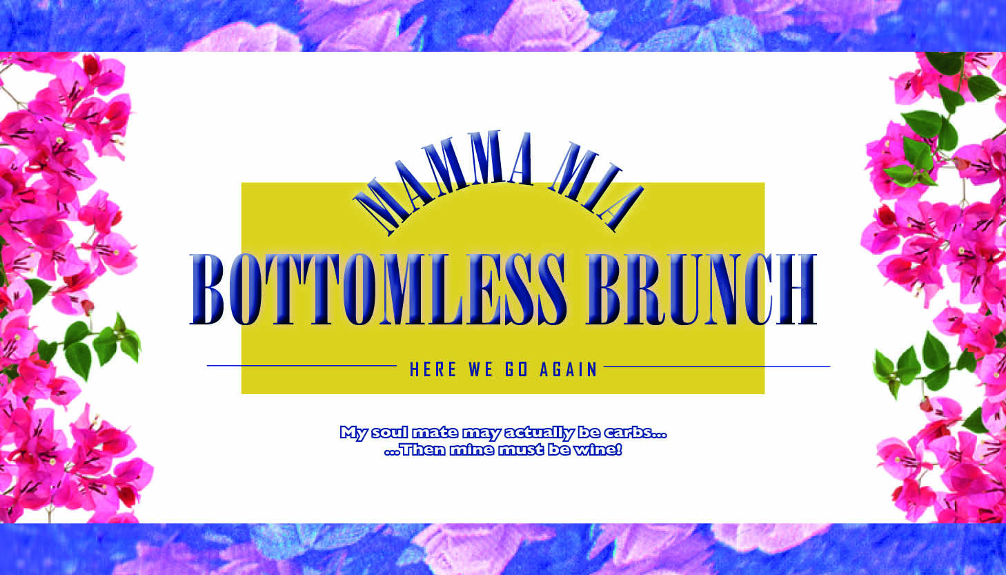 Mamma Mia Bottomless Brunch